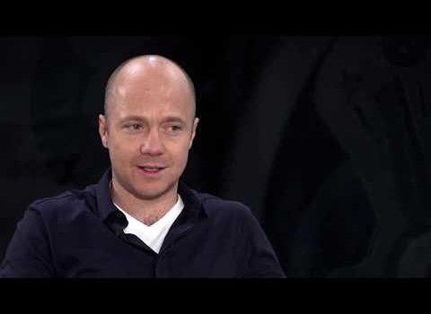Анонс «Час интервью», Евгений Стычкин, часть 1, эфир 31 август., канал RTVi