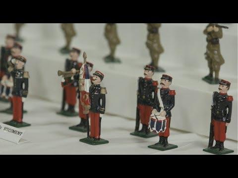 Специальный Репортаж: Выставка Общества Коллекционеров Оловянных Солдатиков
