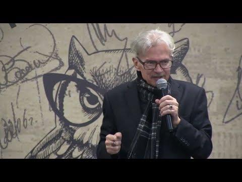 Эдуард Лимонов. Эксклюзивное видео последней творческой встречи с читателями.