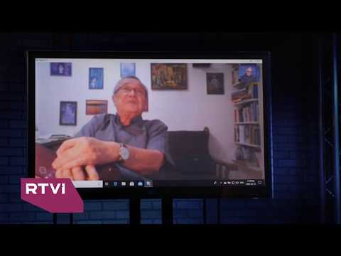 Анонс программы «Час интервью», Юлий Ким. часть 1, 30 мая, 2020, канал RTVi Canada